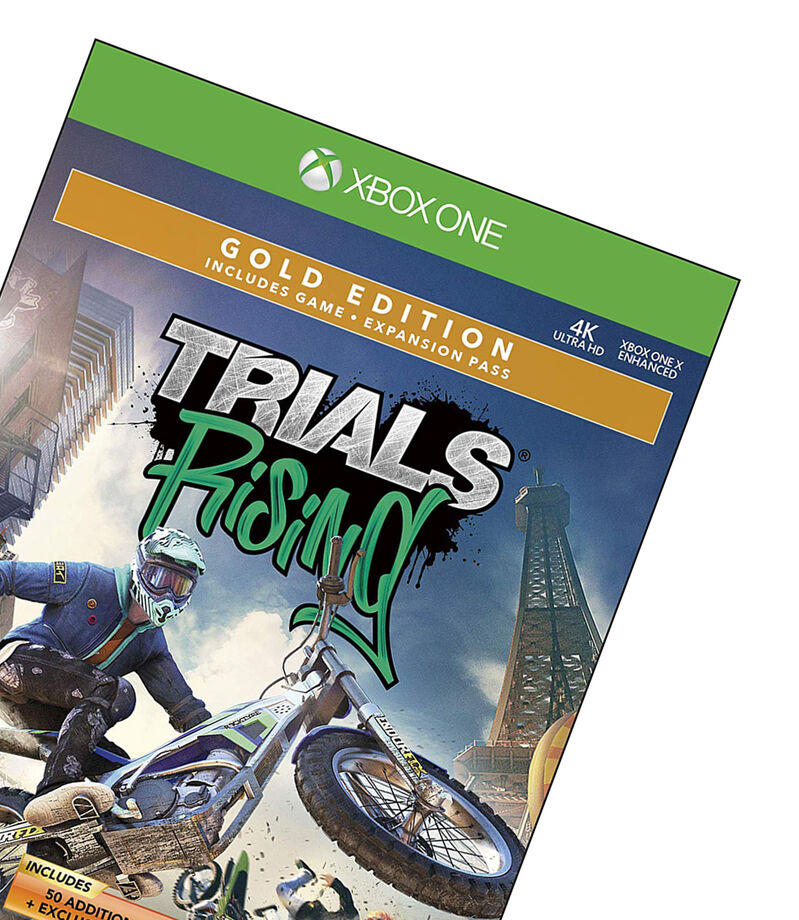Trials Rising Gold One Xbox, , editorial