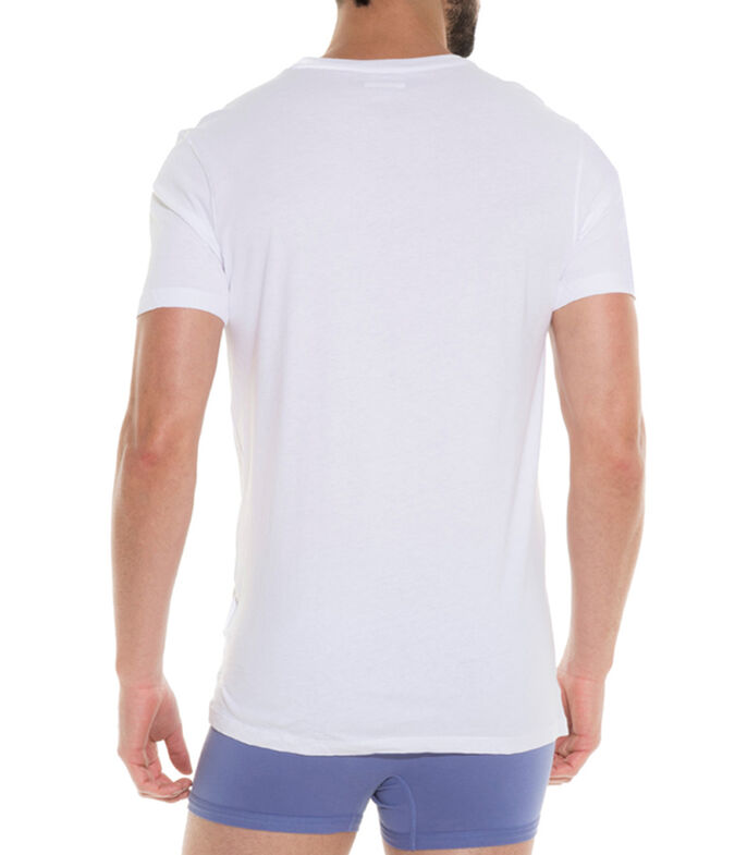 Set 3 Playeras Hombre, BLANCO, large