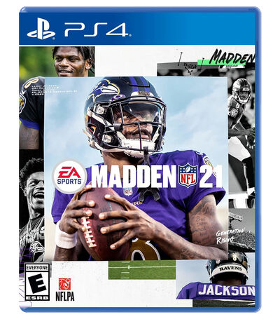 Madden NFL 21 PS4, , large