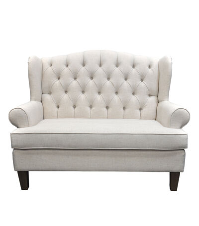 Love Seat Lecco Beige, , large