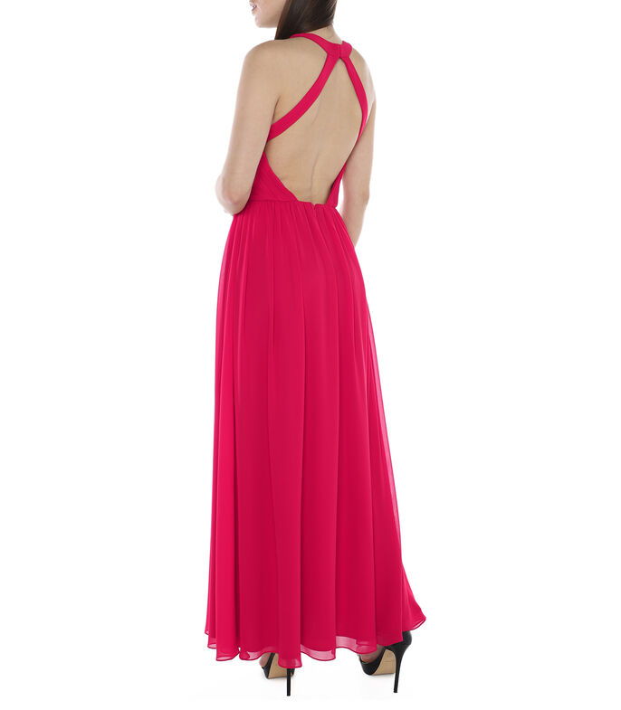 Vestido largo Mujer, CORAL, large