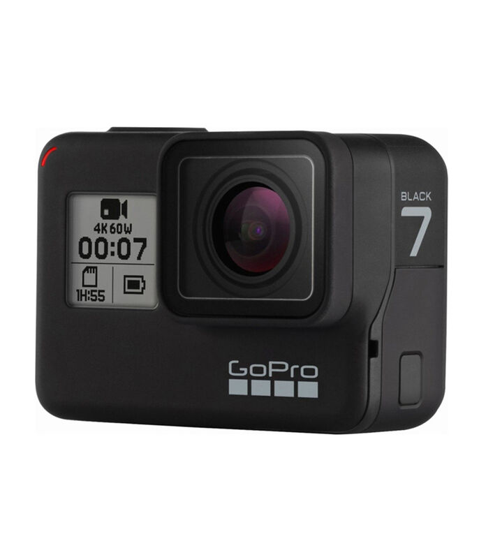 Bundle Videocámara GoPro Hero 7 Black + Tripié Shorty + Batería extra recargable + Memoria microSD de 32GB Scan Disk, , large