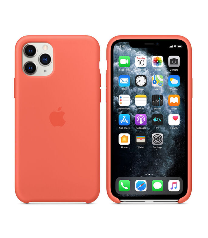 Funda para iPhone 11 Pro Naranja, , large