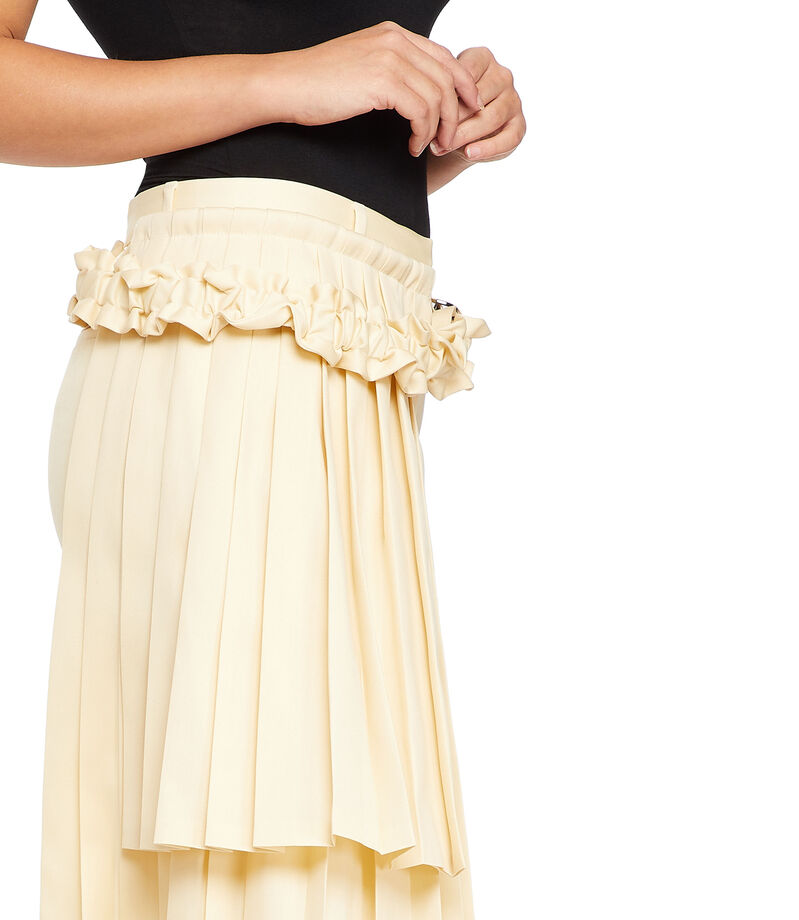 Off-White Pantalón Mujer, BEIGE, editorial