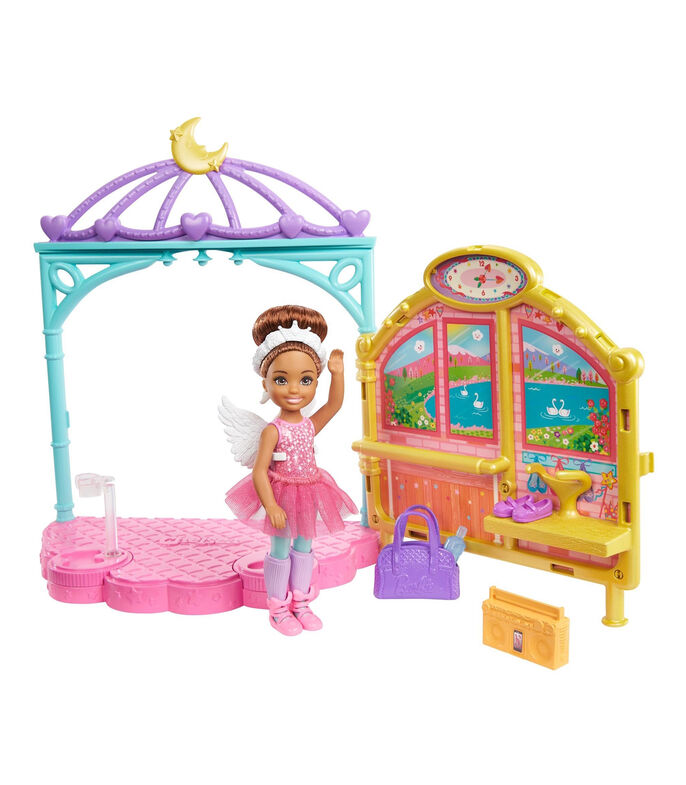 Barbie Club Chelsea Clases de Ballet, , large