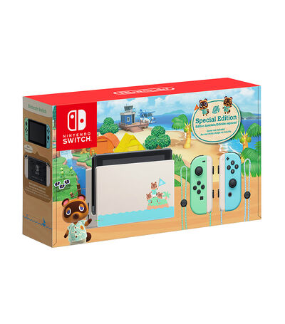 Consola Nintendo Switch 32 GB Animal Crossing New Horizons Edición Especial, , large