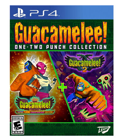 Guacamelee! One-Two Punch Collection Launch Edition PS4, , large