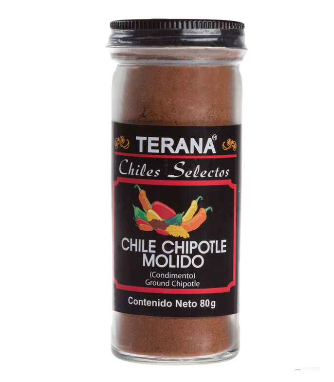 Chile Chipotle Molido Chiles Selectos, 80 gr, , large