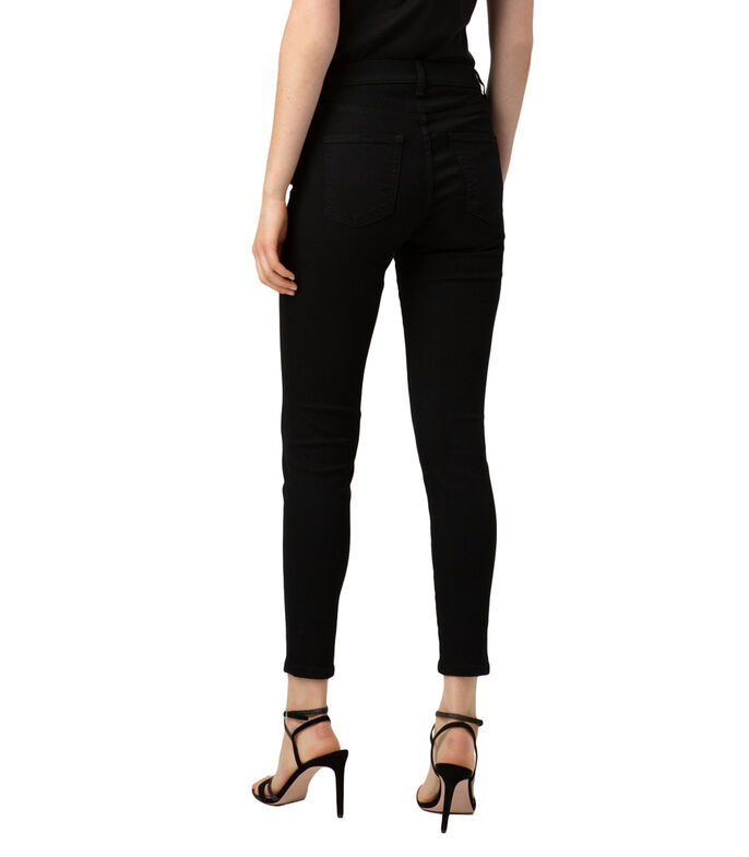 Hugo Jeans HUGO super skinny fit CHARLIE en denim negro Magic Flex Mujer, NEGRO, large