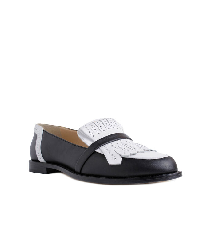 Mocasines con flequillos Mujer, , large