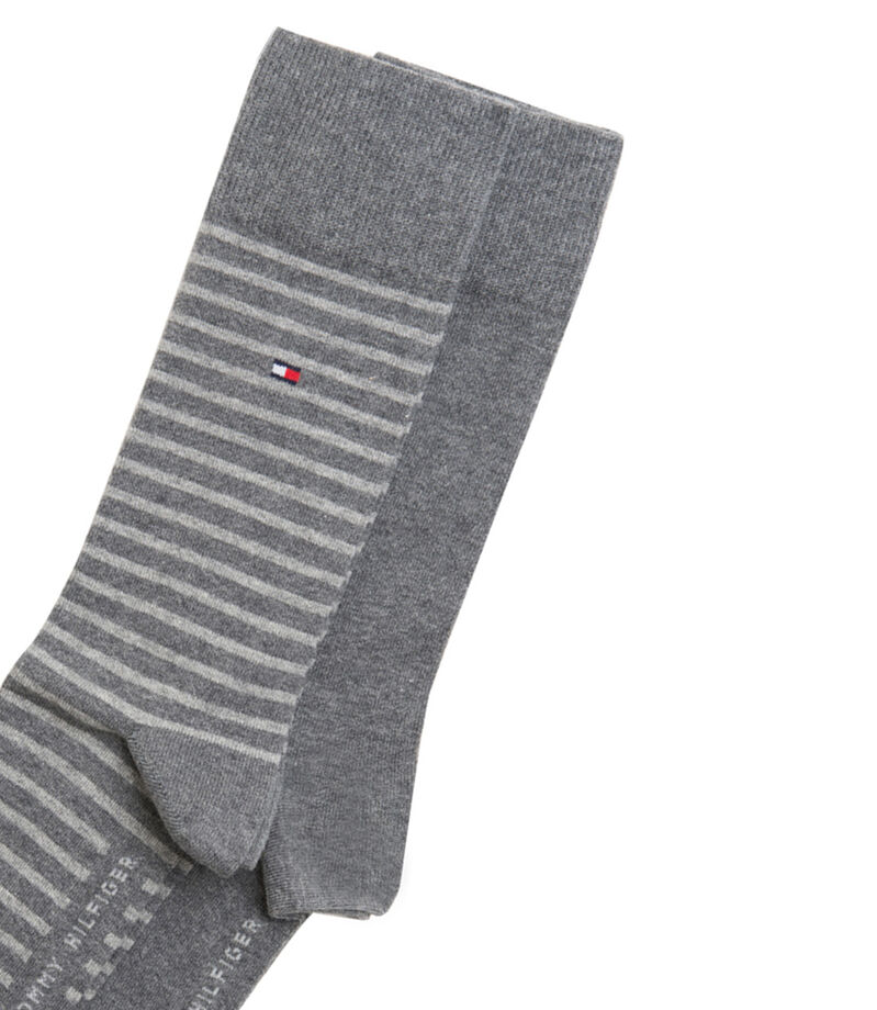 Tommy Hilfiger Set 2 Calcetines Hombre, GRIS MEDIO, editorial