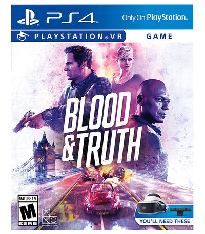 Blood & Truth PS4, , large