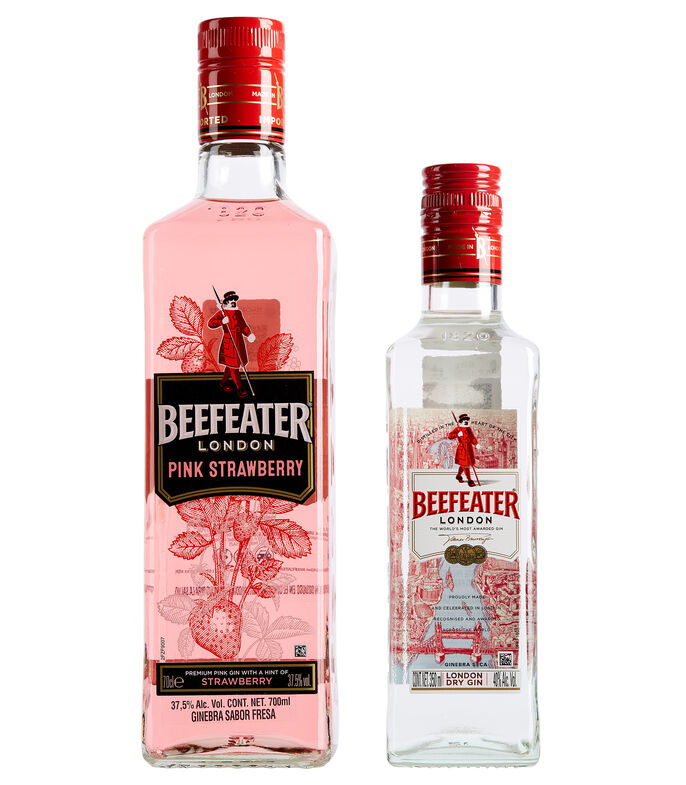 Ginebra Beefeater Pink, 700 ml, , large