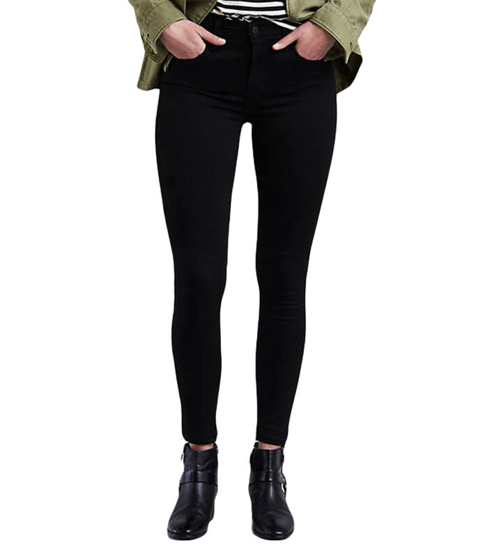 Jeans 720 Skinny Mujer, NEGRO, large