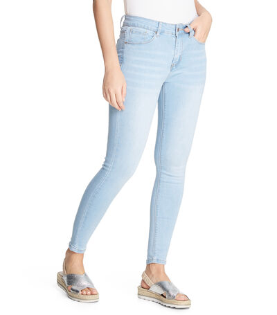 Jeans Slim Fit Mujer, , large