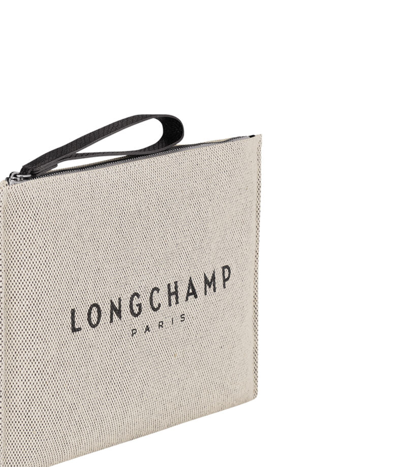 Longchamp Neceser beige Mujer, , editorial