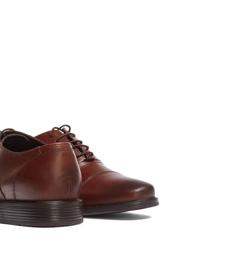 Quirelli Zapatos de vestir Oxford Hombre, CHOCOLATE, editorial
