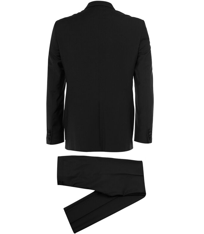 Smoking de corte Regular Hombre, NEGRO, large
