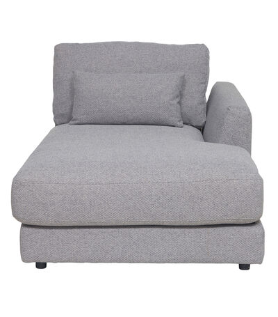 Chaise lounge Mark Derecho Gris, , large