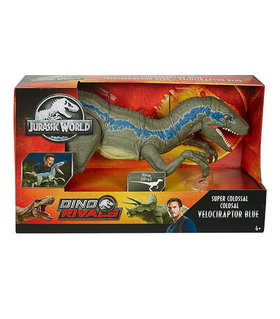 Jurassic World Super Colossal Velociraptor, , large