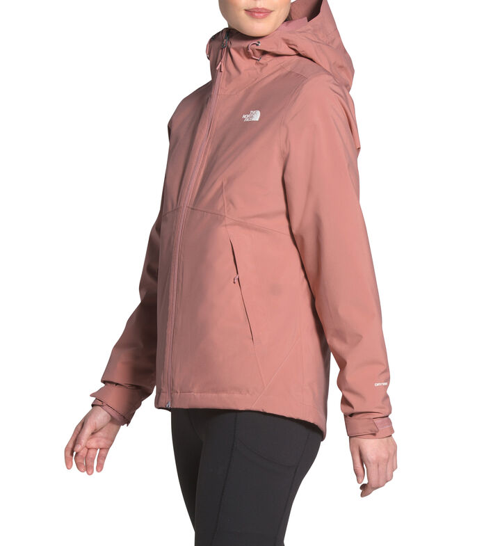 Chamarra Impermeable con Capucha Carto Mujer, ROSA, large