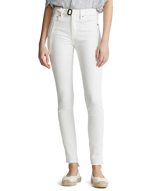 Jeans Recto Mujer, BLANCO, large