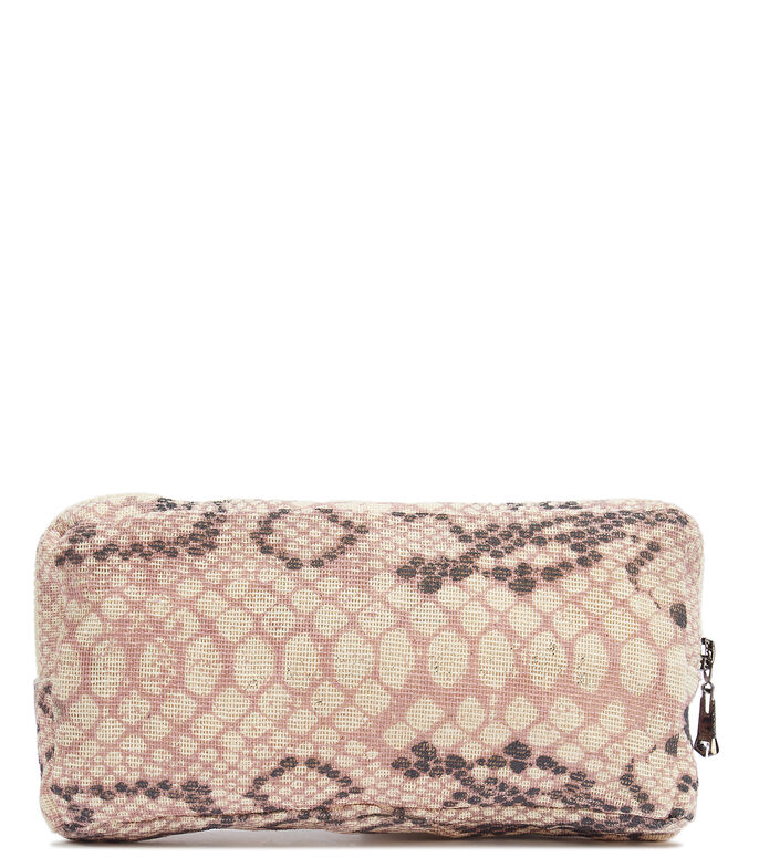 Bolso clutch con animal skin, , large