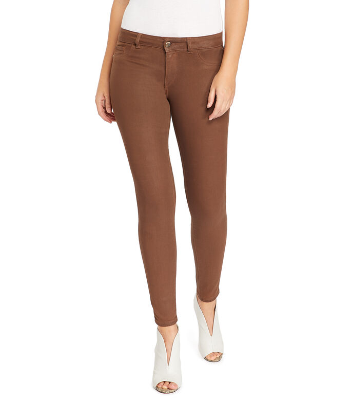 Jeans Skinny Mujer, CAFE, large