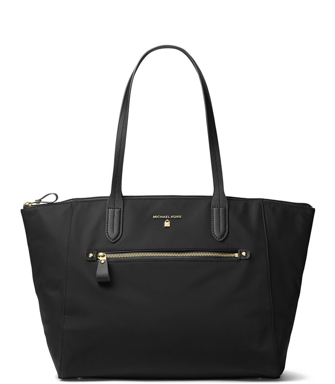 Bolso tote, NEGRO, large