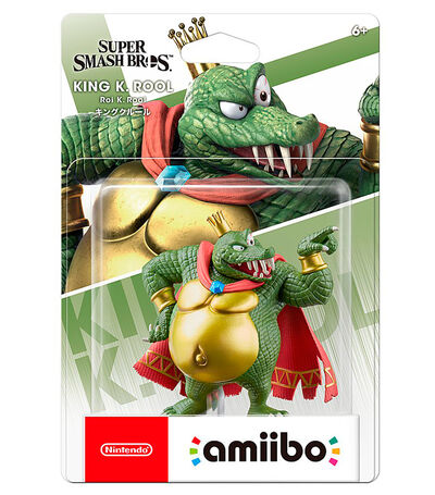 Amiibo King K Rool Super Smash Brothers Series, , large