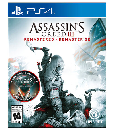 Assassin's Creed III Remastered PS4, , large