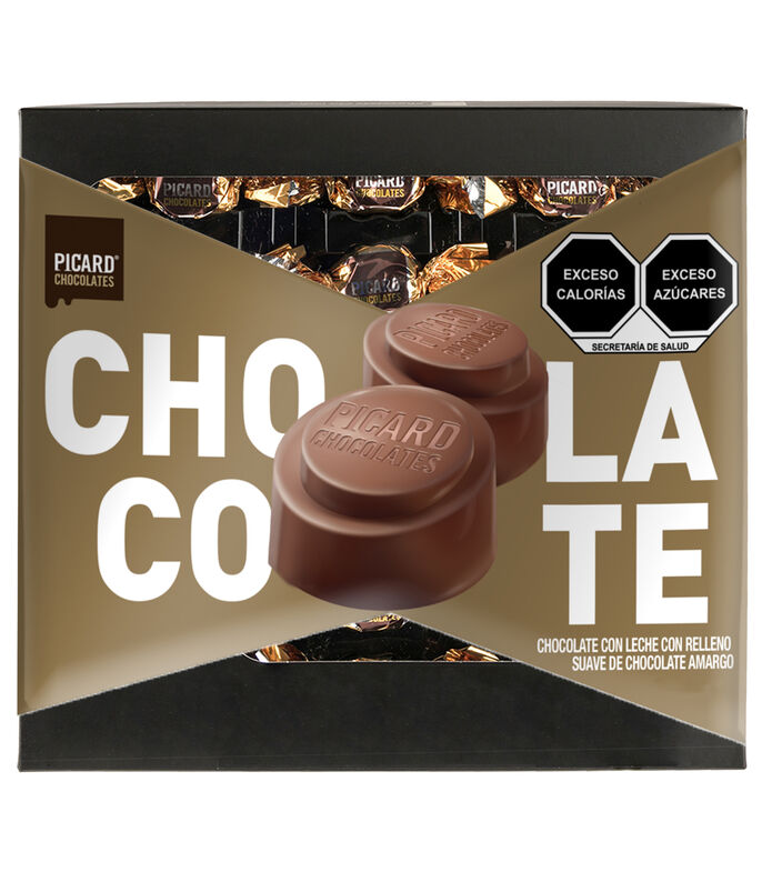R Picard Chocolate Relleno Suave, 160 g, , large