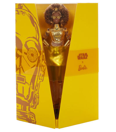 Muñeca Barbie Star Wars C-3PO, , large