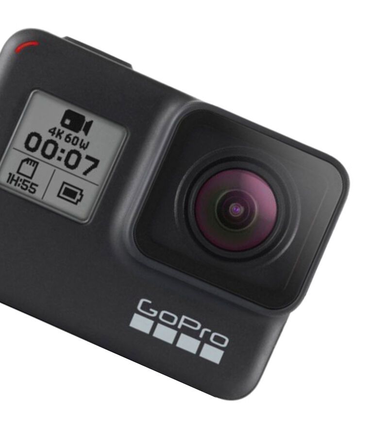 Bundle Videocámara GoPro Hero 7 Black + Tripié Shorty + Batería extra recargable + Memoria microSD de 32GB Scan Disk, , editorial