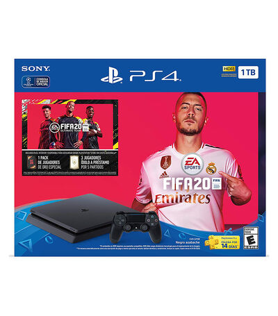 Consola PS4 1 TB FIFA 20 Latam, , large