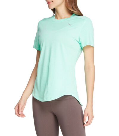 Playera para correr Ignite Heather Mujer, , large