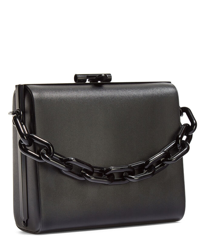 Bolso clutch, NEGRO, large