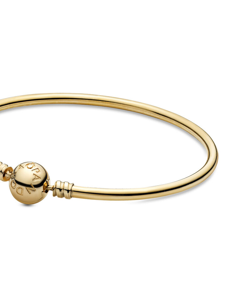 Brazalete en oro de 14 Kts Gold Bangle Unisex, , editorial