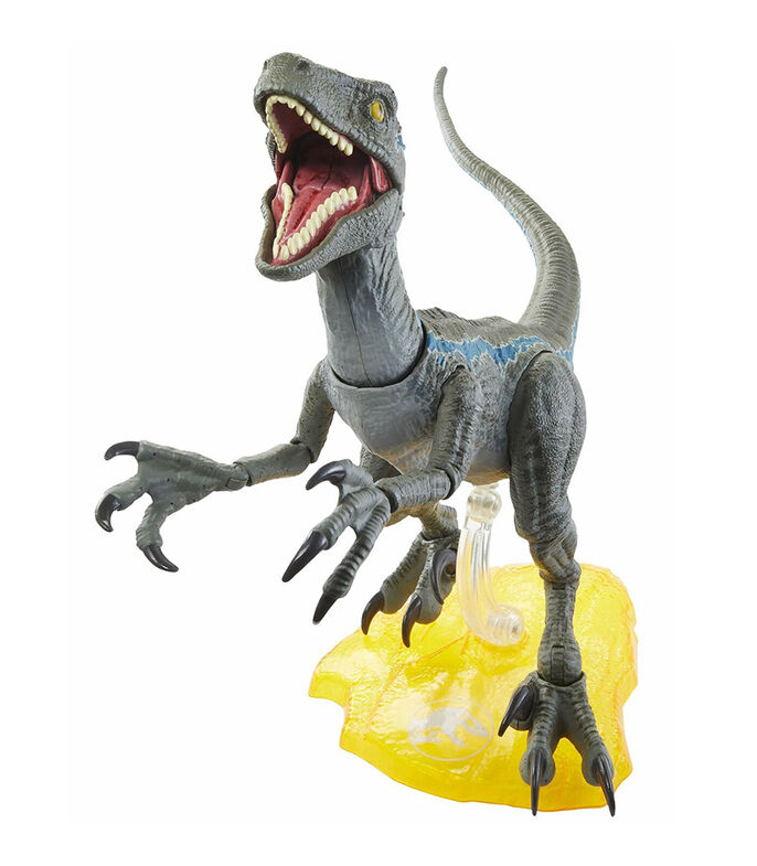 Jurassic World Velociraptor Blue Amber Collection, , large