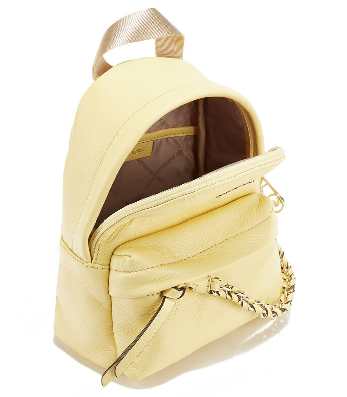 Bolso backpack, AMARILLO, large