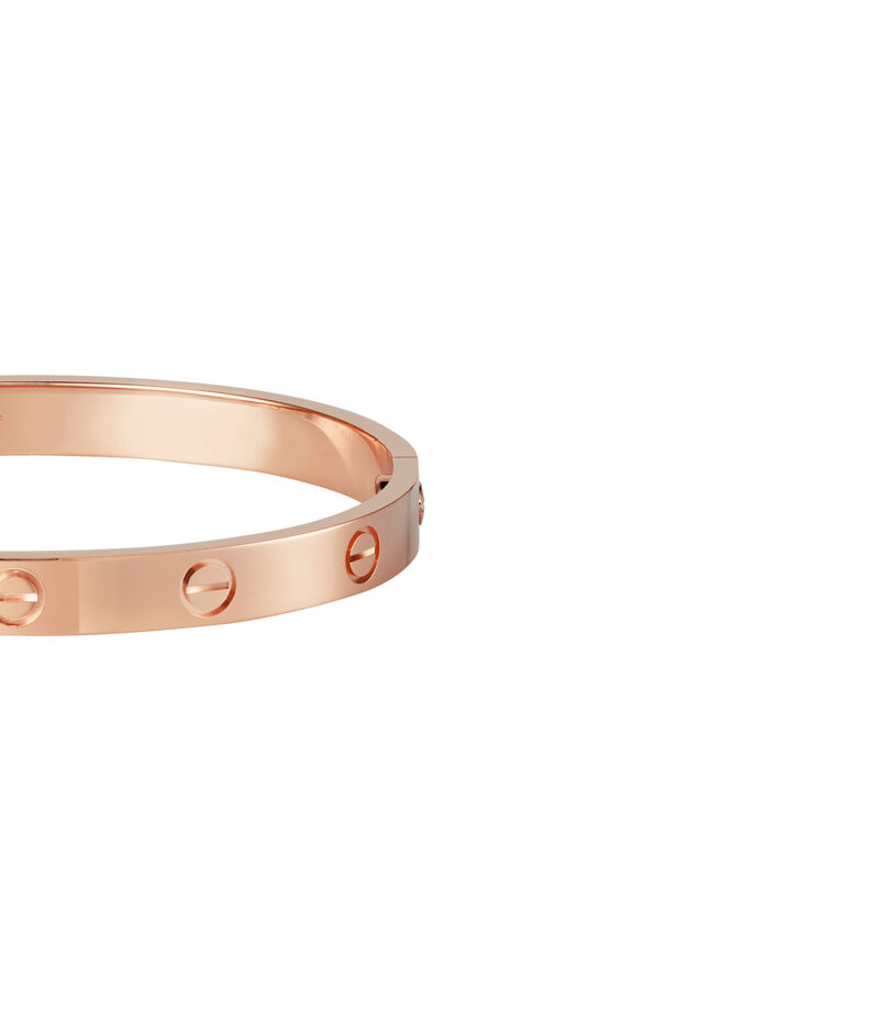 Pulsera Love Oro Rosa, , editorial