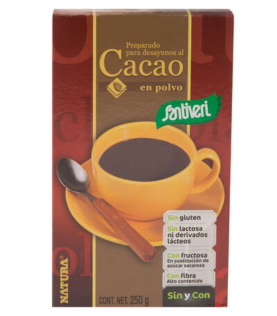 Cacao en Polvo Fructuosa, 250 g, , large