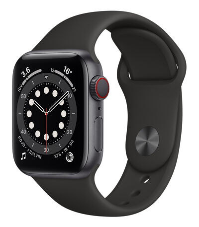 Apple Apple Watch Series 6, 40 mm Gris Espacial, , large