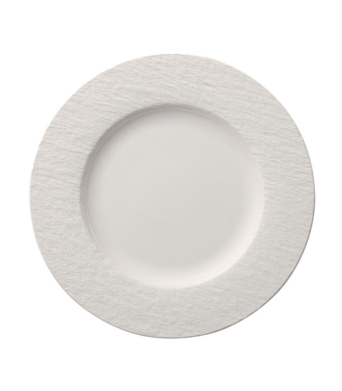 Villeroy & Boch Plato Llano Manufacture Rock Blanc, , large