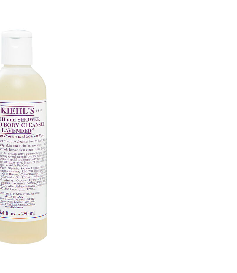 Bath and Shower Liquid Body Cleanser Lavender, , editorial
