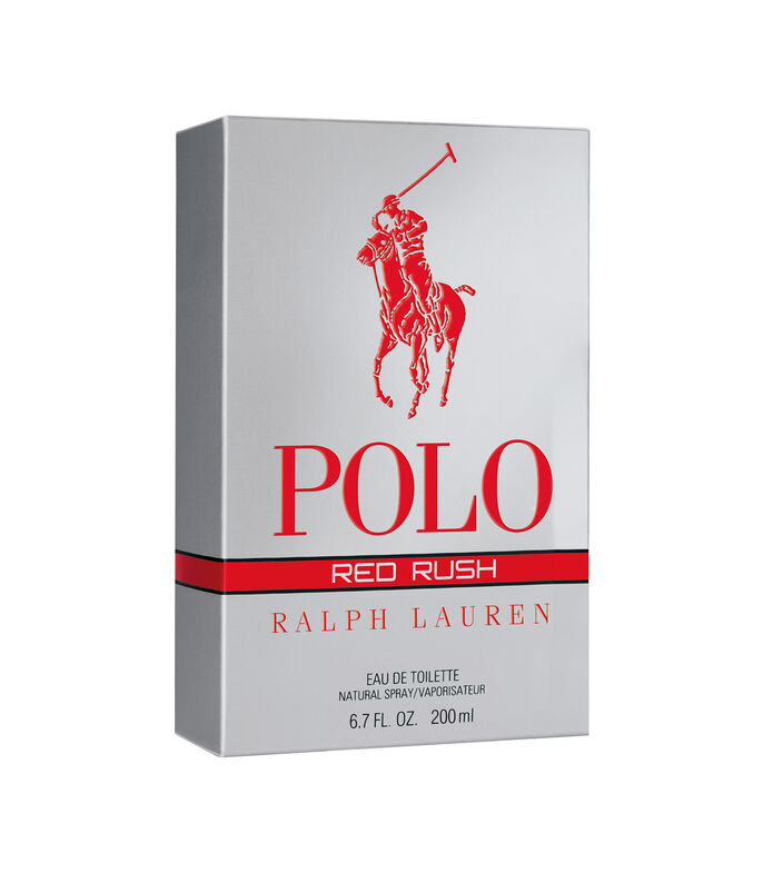 Perfume Ralph Lauren Polo Red Rush Eau de Toilette 200 ml, Hombre, , large