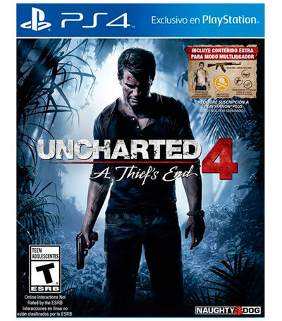 Uncharted 4 A Thiefs End PS4, , large