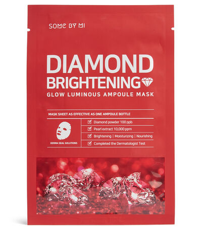 Mascarilla Diamond Brightening Calming Glow Luminous Ampoule Mask, 25 gr, , large
