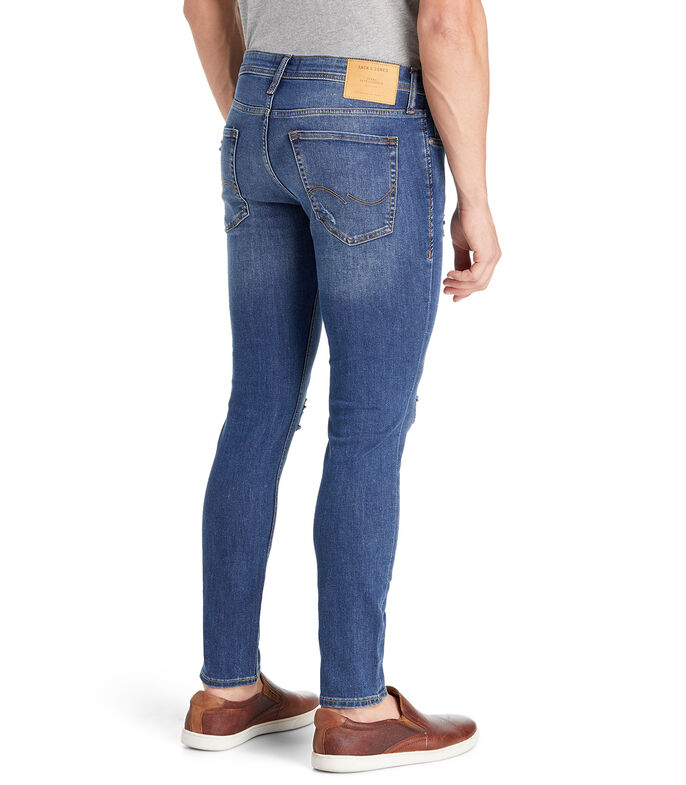 Jeans Skinny Hombre, AZUL, large