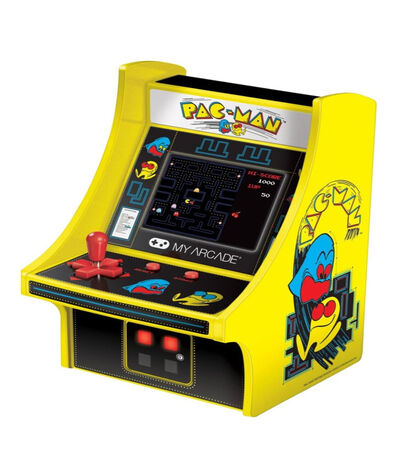 Mini Consola Retro Modelo Pac-Man Micro Player, , large